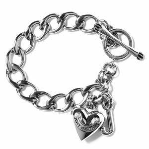 63b36f038273 Juicy Couture Jewelry - JUICY COUTURE Silver Mini Starter Charm Bracelet
